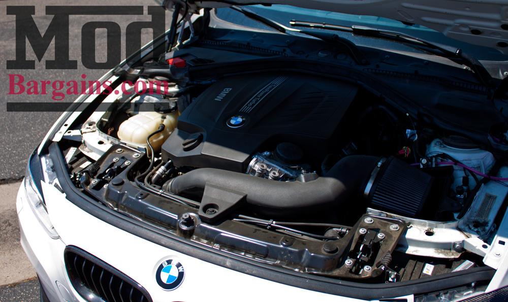 BMS Burger Motor Sport BMW F30 335i Intake N55 Installed 6