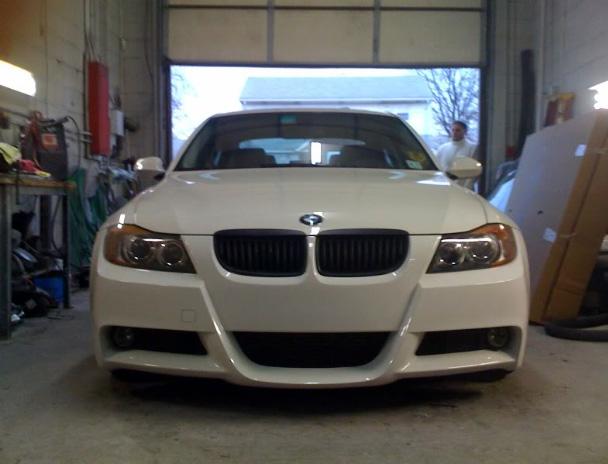 MTech Style Front Bumper Pre LCI / LCI for BMW E90