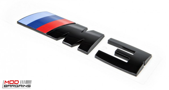 OEM Gloss Black Competition Package Trunk Emblem