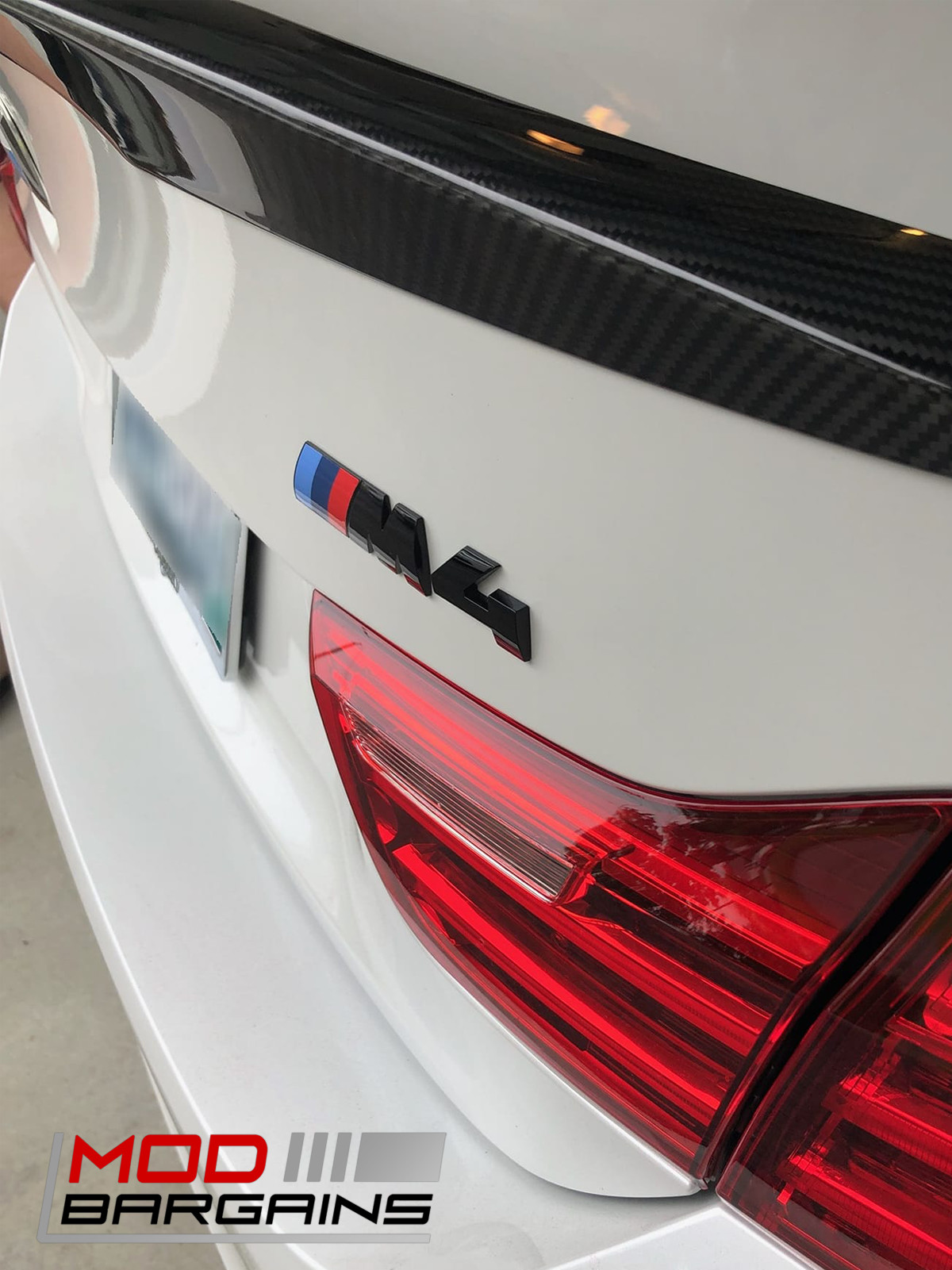 OEM Gloss Black Competition Package Trunk Emblem for BMW M4 F82