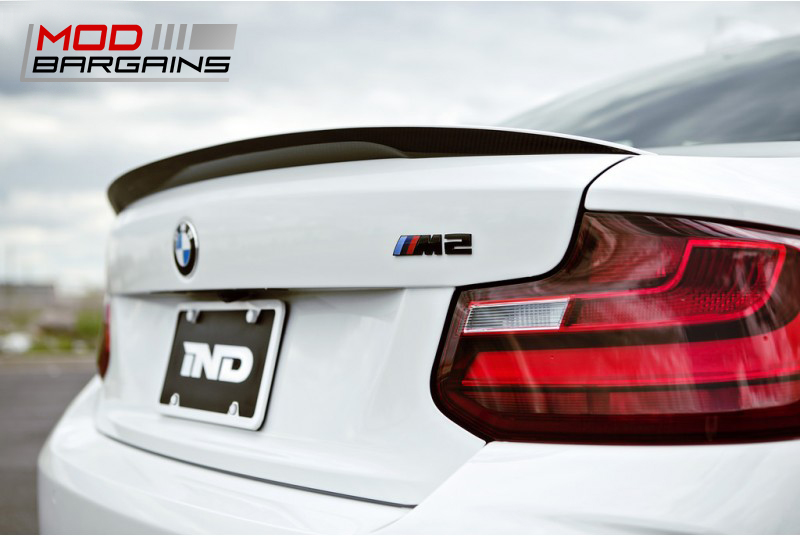 Black Chrome Trunk Emblem for BMW M2 F87