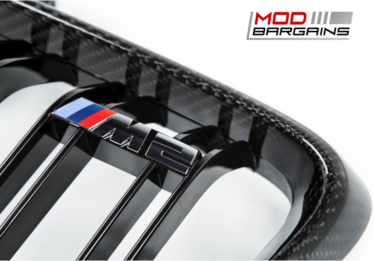 Carbon Fiber Front Grilles for BMW M2 F87
