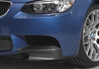 BMW Performance E9X M3 Carbon Fiber Front Splitters