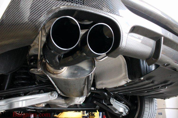 Berk Technology BMW 135i Exhaust tips