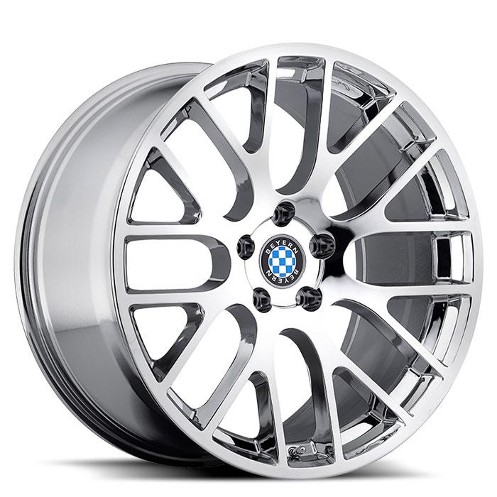 Beyern Wheels Spartan Chrome Front