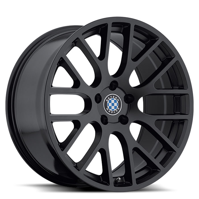 Beyern Wheels Spartan Matte Black Front