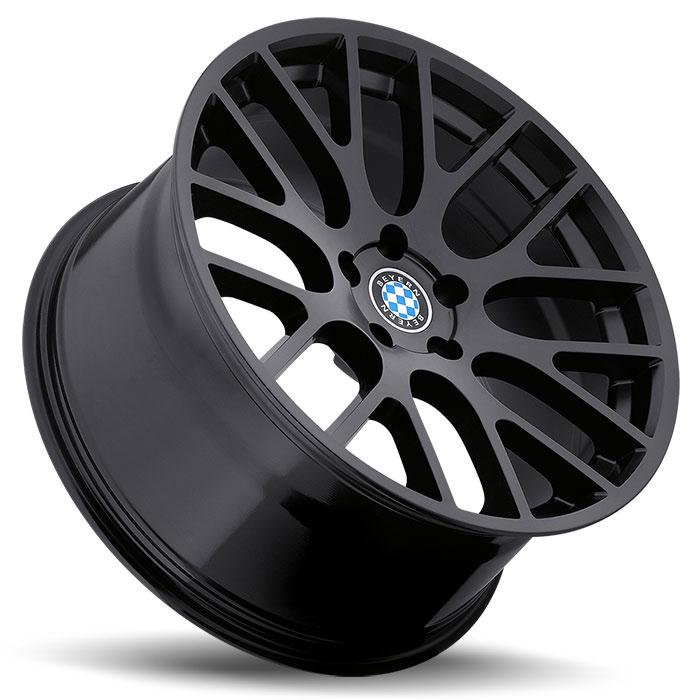 Beyern Wheels Spartan Matte Black Side