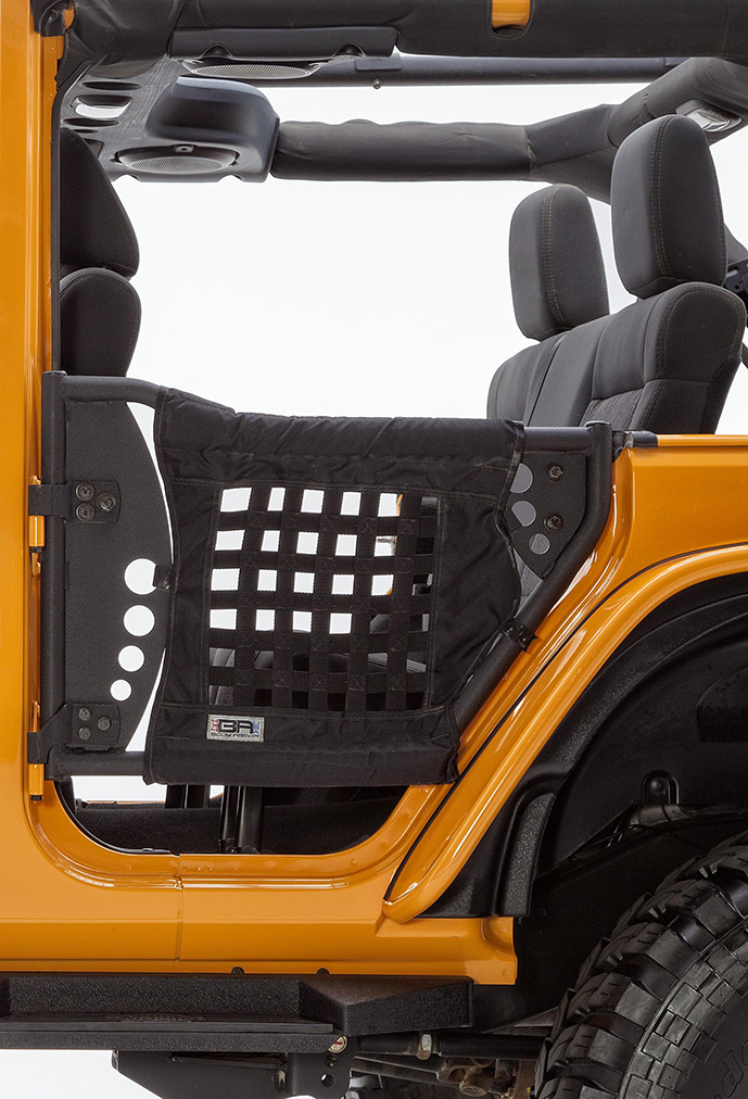 Body Armor 4x4 Rear Trail Door Installed for Jeep Wrangler JK