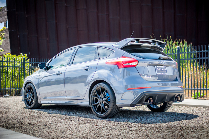 Borla S-Type Exhaust System Installed on Ford Focus RS (3)