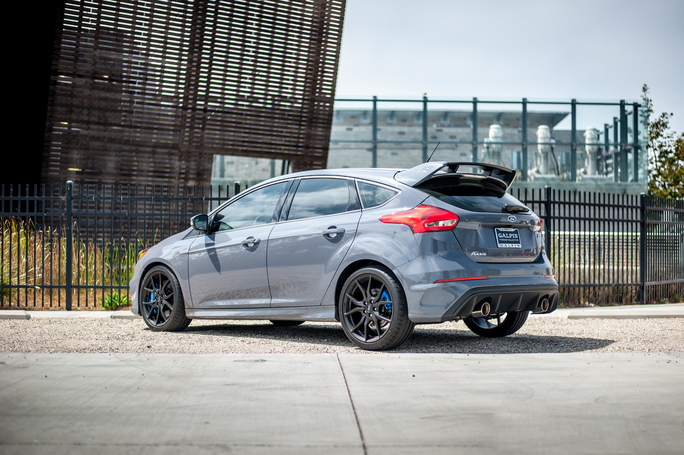 Borla S-Type Exhaust System Installed on Ford Focus RS