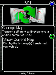 Cobb Accessport V3 Map