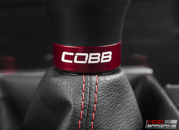 Cobb Shift Knob Black w/ Red Cobb Logo 2010-2014 VW Golf GTI MK6