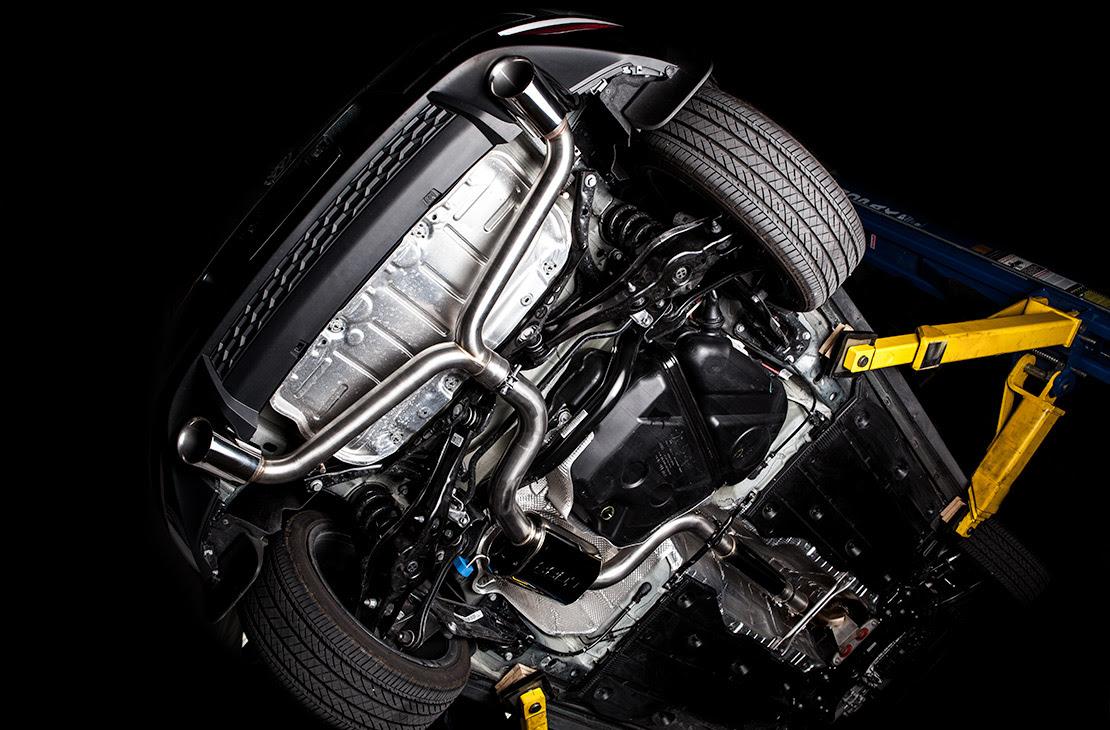 Cobb Cat-Back Exhaust System Installed on 15-16 Volkswagen Golf GTI MK7