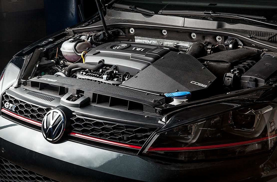 Cobb SF Intake System Installed on Volkswagen Golf GTI MK7