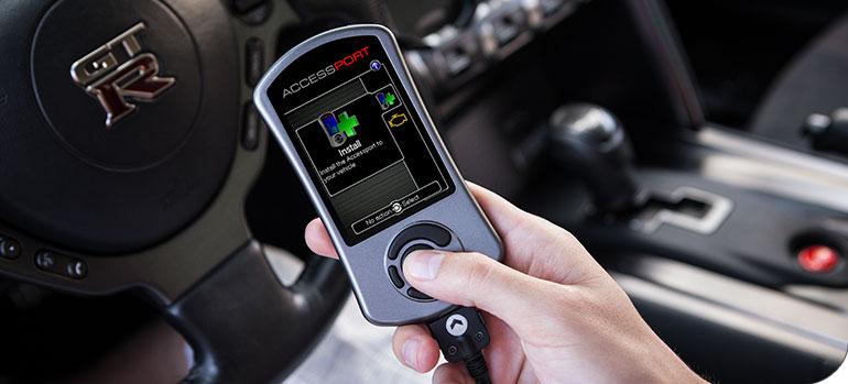 Cobb Tuning AccessPORT Nissan R35 Skyline GT-R Accessibility
