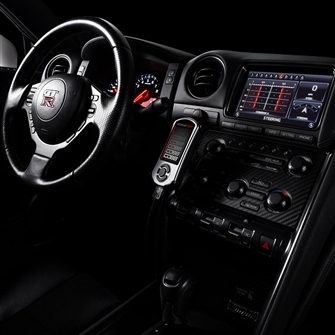 Cobb Tuning AccessPORT Nissan R35 Skyline GT-R Interior Shot