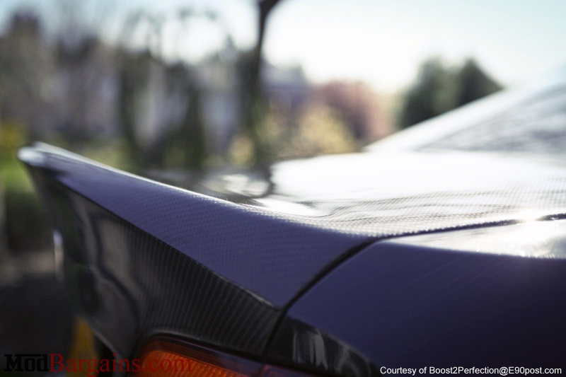 CSL-Style Trunk/Bootlid in 2x2 carbon Fiber Weave