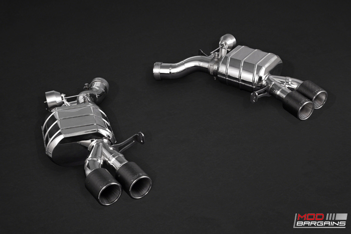 Capristo Stainless Exhaust for 2018+,F10 M5, F90 M5, Performance, Carbon FIBER , F80 M3, f82 f83 m4, EXHAUST, MODIFICATION, KW, ST, N55,N54, BLK, BLACK, MODBARGAINS.COM