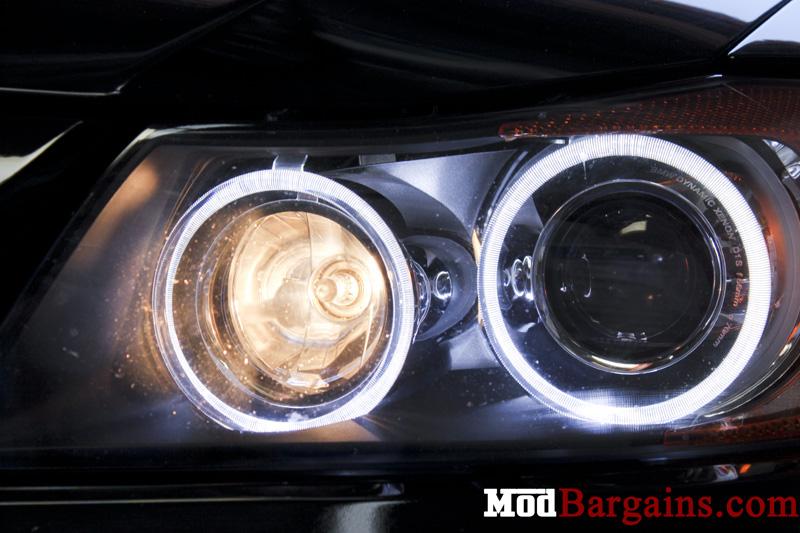 LED Angel Eye Bulbs for E90 by City Vision Lighting