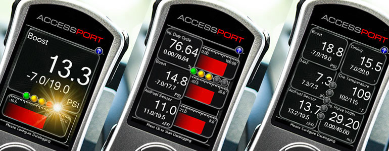 Cobb Tuning V3 Customizable multi-gauge display