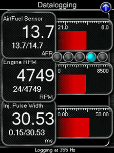 Cobb Tuning Accessport Features: Data Logging