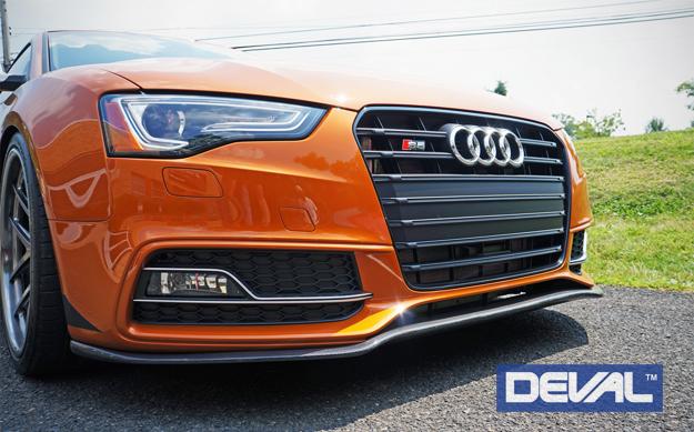 deval front lip carbon fiber lip spoiler a5 s5 D29241