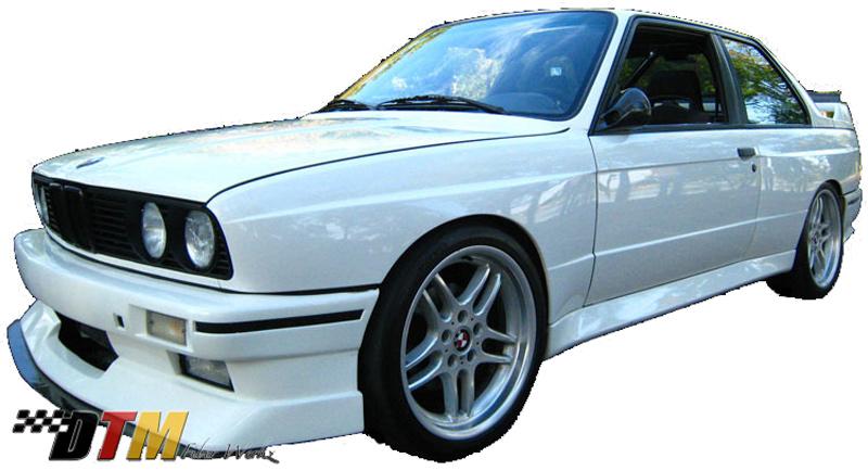 DTM Fiber Werkz BMW E30 Evo Bumper