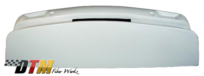 DTM Fiber Werkz BMW E30 Evo Bumper Underside