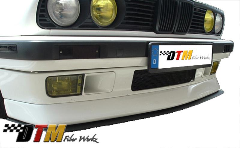 DTM Fiber Werkz BMW E30 DTM Style Front Lip Mounted View 3