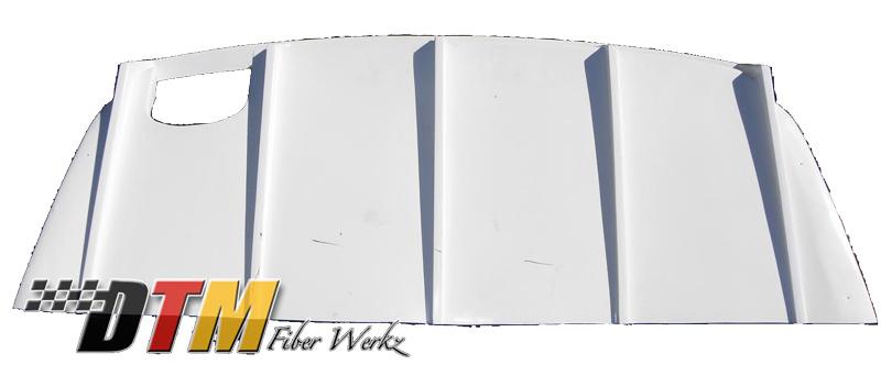 DTM Fiber Werkz BMW E36 M3 DTM Style Rear Diffuser [FRP] View 3
