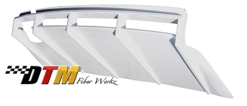 DTM Fiber Werkz BMW E36 M3 DTM Style Rear Diffuser [FRP] View 2