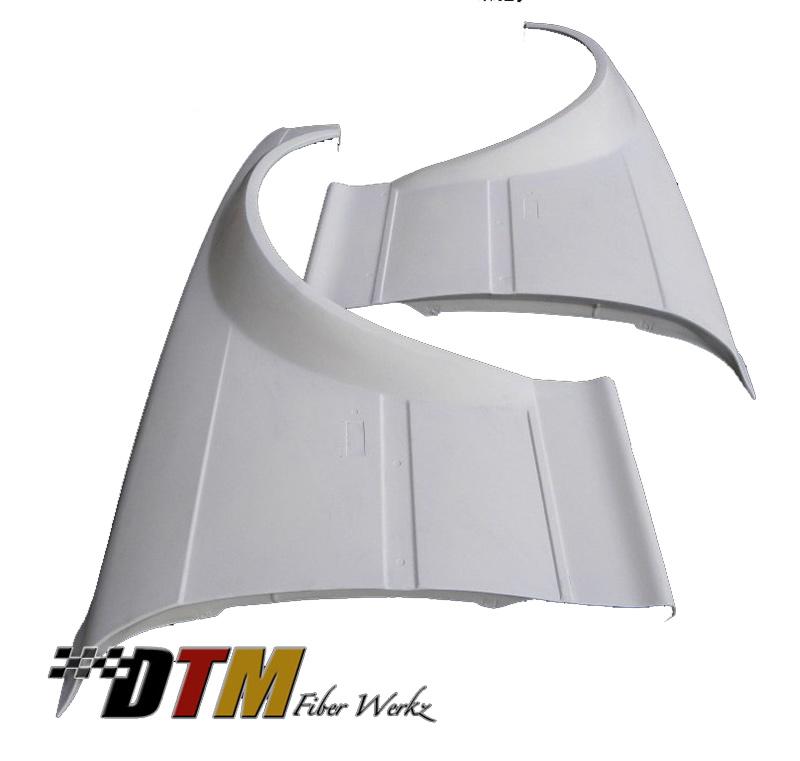 DTM Fiber Werkz BMW E36 GTR-S Widebody Front Fenders View 1