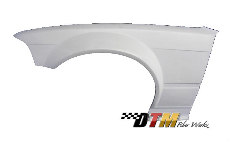 DTM Fiber Werkz BMW E36 GTR-S Widebody Front Fenders View 4
