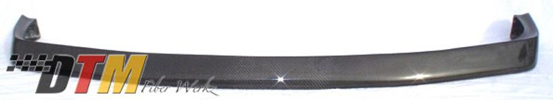 DTM Fiber Werkz BMW E30 DTM Style Front Lip View 3