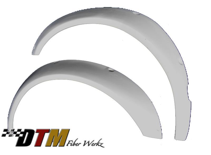 DTM Fiber Werkz BMW E36 Rivet On Fender Flares FRP View 1