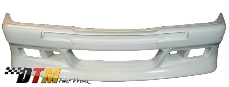 DTM Fiber Werkz BMW E36 Z-Max Widebody Kit Unmounted View 1
