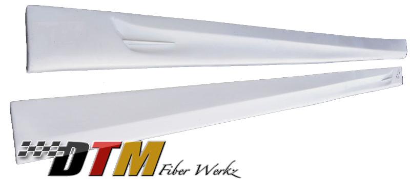 DTM Fiber Werkz BMW E38 ACS Style Side Skirts 2