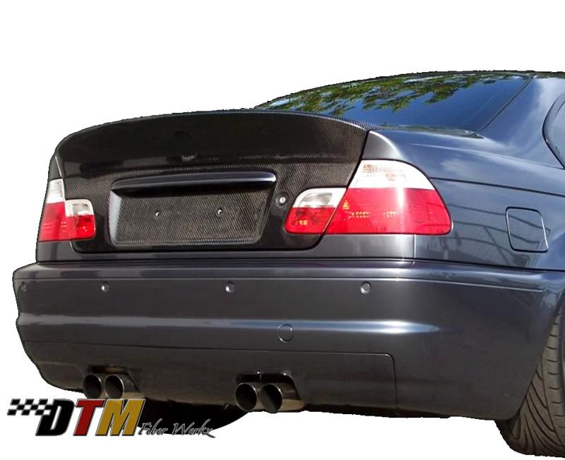 DTM Fiber Werkz BMW E46 CSL Style Trunk