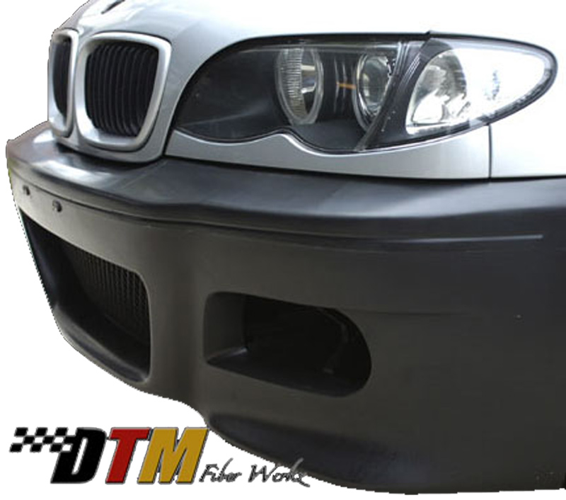 DTM Fiber Werkz BMW E45 M3 Replacement Style Bumper