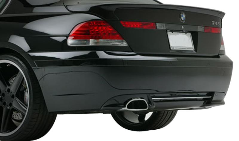 DTM Fiber Werkz BMW E65 ACS Style Rear Apron View 3