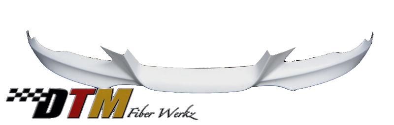 DTM Fiber Werkz BMW E92 Mtech Style Front Lip Unmounted
