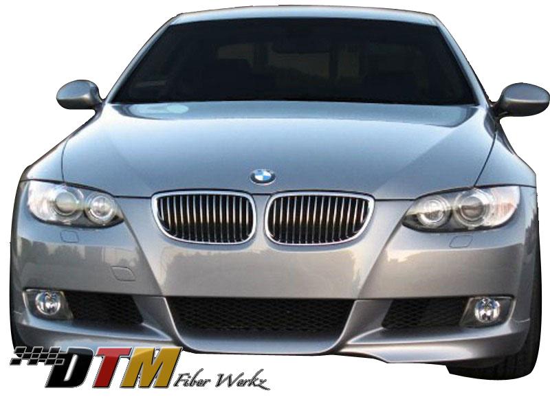 DTM Fiber Werkz BMW E92 Mtech Style Front Lip Mounted