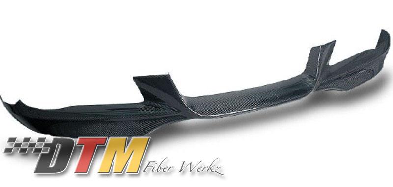 DTM Fiber Werkz BMW E92 Mtech Style Front Lip Unmounted in Carbon Fiber