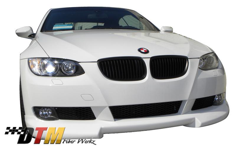 DTM Fiber Werkz BMW E92 RG Style Front Lip Mounted 2