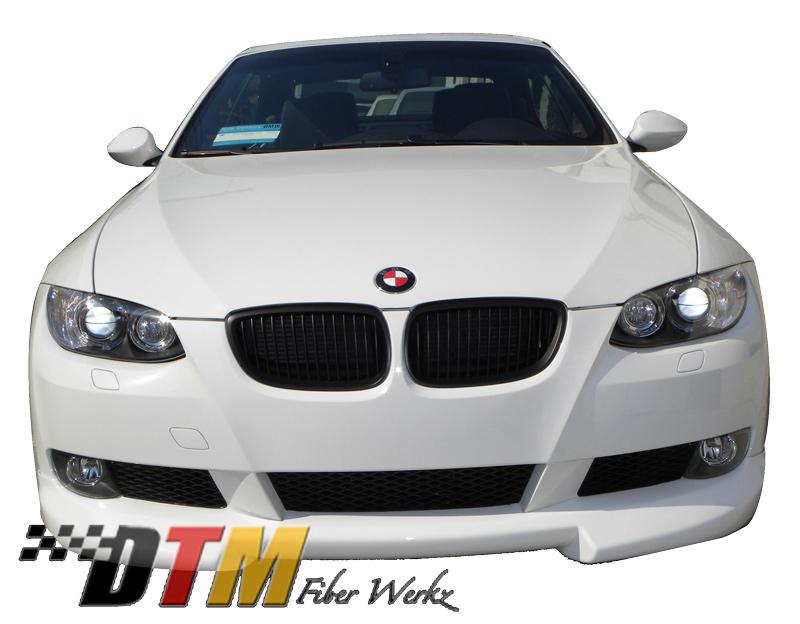 DTM Fiber Werkz BMW E92 RG Style Front Lip Mounted 3