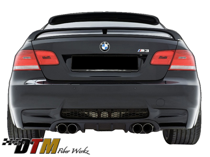 DTM Fiber Werkz BMW E9X M3 HM style Rear Diffuser 1