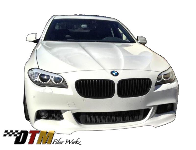BMW F10 2011+ W/Mtech Front Bumper DTM Style Front Lip View 1