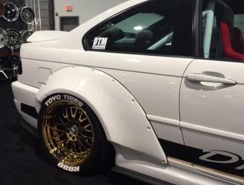 BMW E46 M3 GTR-S V2 Rivet On Fenders
