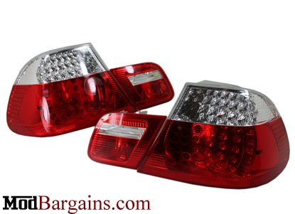 Clear BMW E46 Tail Lights