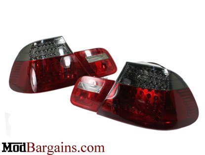 Smoked BMW E46 Tail Lights